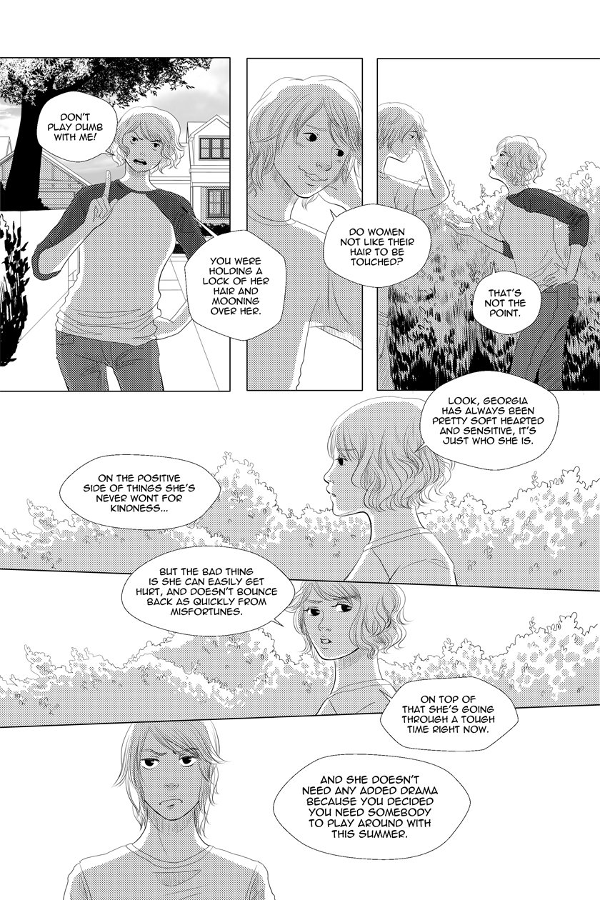 Fine Sometimes Rain Chapter 03 – P20