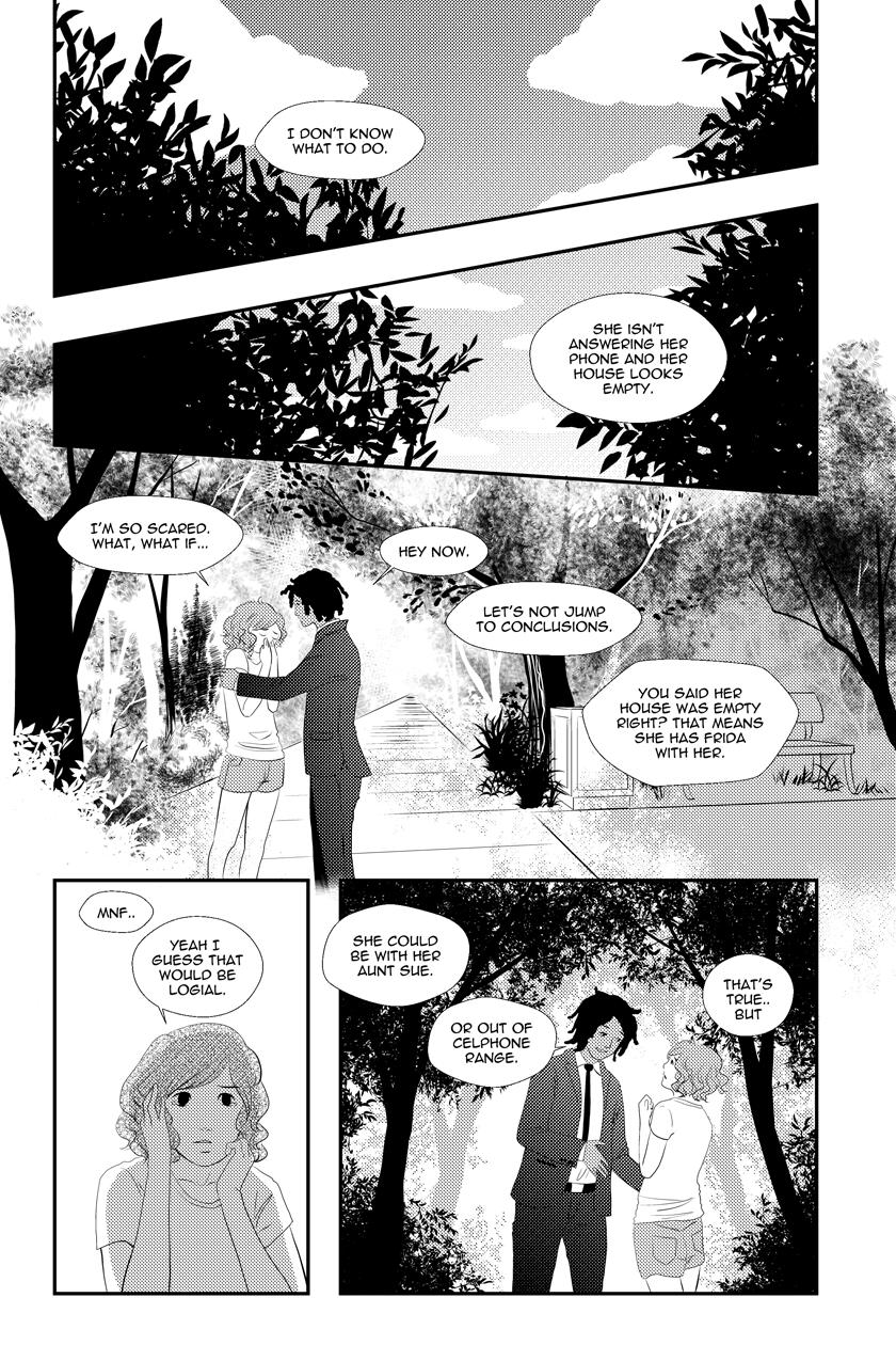 Fine Sometimes Rain Chapter 08 – P17