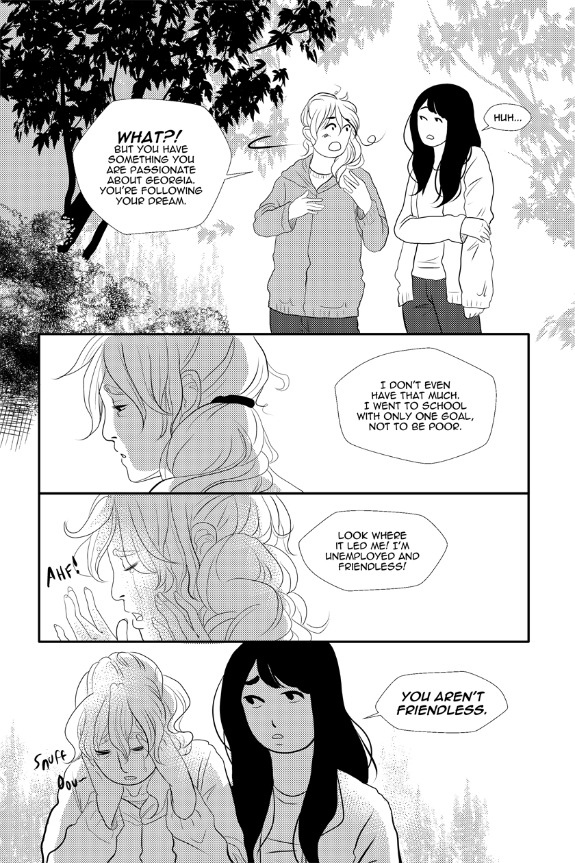 Fine Sometimes Rain Chapter 13 – P11